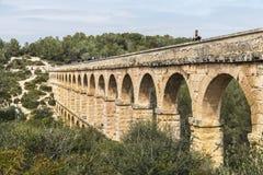 akwedukt rzymski Spain Tarragona Zdjęcie Stock