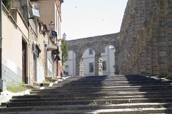 akwedukt Segovia Fotografia Royalty Free