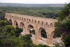 akweduktu du Gard pont Zdjęcia Stock