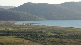 Akyaka Turkey. Kite Board Close Up stock footage