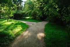 Aléia das estradas transversaas no parque Fotografia de Stock
