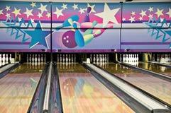Aléia de bowling Fotografia de Stock