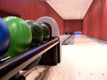 Aléia de bowling confidencial Imagem de Stock