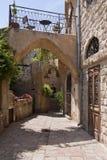 Aléia em Jaffa fotos de stock