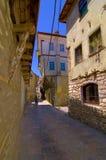 Aléia velha da cidade de Ohrid Imagem de Stock Royalty Free