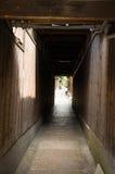 Aléias japonesas de Kyoto Fotografia de Stock