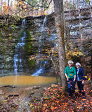 Além de Twin Falls Imagem de Stock