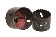 Alésage en métal photographie stock