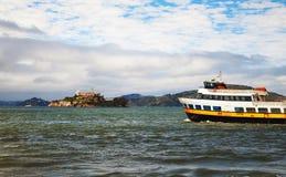 Alсatraz island in San Francisco bay, California Royalty Free Stock Photography