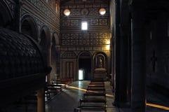 Al佛罗伦萨miniato monte圣 库存图片