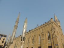 Al侯赛因清真寺,开罗 库存图片