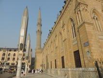 Al侯赛因清真寺,开罗 库存照片