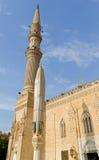 Al侯赛因清真寺 库存图片