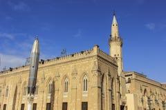 Al侯赛因清真寺 免版税库存照片