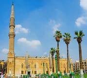 Al侯赛因清真寺 图库摄影