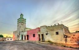 Al卡斯巴清真寺在萨菲,摩洛哥 免版税库存照片