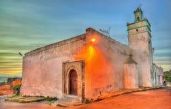 Al卡斯巴清真寺在萨菲,摩洛哥 图库摄影