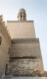 Al哈卡姆清真寺尖塔  库存照片