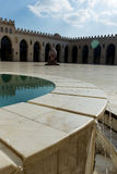 Al哈基姆清真寺的看法 库存照片
