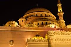 Al清真寺noor沙扎阿拉伯联合酋长国 免版税库存照片