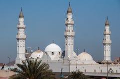 Al的Madinah,沙特阿拉伯渠坝清真寺 库存图片