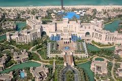 Al迪拜旅馆qasr 免版税图库摄影