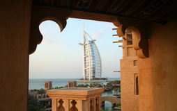 Al阿拉伯人burj 免版税库存图片