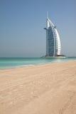 Al阿拉伯burj旅馆 库存图片