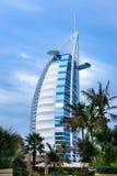 Al阿拉伯burj迪拜阿拉伯联合酋长国 库存图片