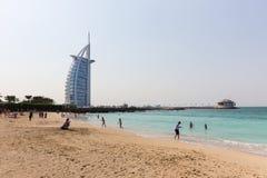 Al Άραβας Burj, στο Ντουμπάι, Ε.Α.Ε. Στοκ Φωτογραφία
