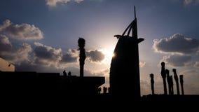 Al Άραβας burj Στοκ φωτογραφία με δικαίωμα ελεύθερης χρήσης