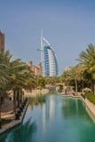 Al-αραβικό ξενοδοχείο Ντουμπάι Ε.Α.Ε. Burj Στοκ εικόνα με δικαίωμα ελεύθερης χρήσης