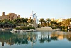 Al Араб Burj, Дубай Стоковое Изображение RF