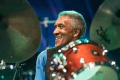 Al приёмный живет на джазовом фестивале Nisville, 11-ое августа 2017 Стоковые Изображения RF