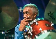 Al приёмный живет на джазовом фестивале Nisville, 11-ое августа 2017 Стоковое фото RF