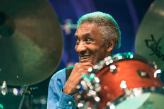 Al приёмный живет на джазовом фестивале Nisville, 11-ое августа 2017 Стоковые Фото
