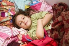 al abadejo de la niña Fotografía de archivo libre de regalías