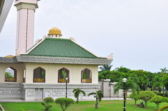 Al-adzim mosque in Melaka Royalty Free Stock Image
