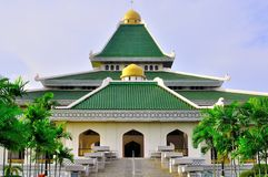 Al-adzim mosque in Melaka royalty free stock photos