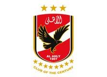 Al Ahly Egypt Logo stock illustrationer