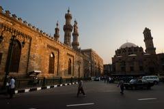 Al Ahzar and Abu Dahab Mosque Royalty Free Stock Image