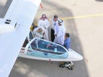 Al Ain Aerobatics Show Arkivfoton