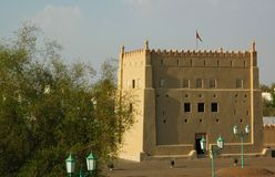 Al Ain Fort, Emirate of Abu Dhabi Stock Photo
