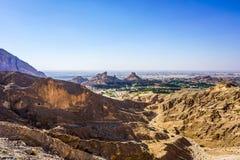 Al Ain Jabal Hafeet fotografia de stock royalty free
