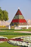 Al Ain paradisträdgårdar Arkivfoto