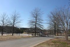 Al aire libre y día hermoso del cielo azul Foto de archivo