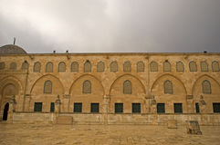 Al Aksa Mosque, Jerusalem, Israel Royalty Free Stock Photo