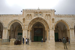 Al Aksa Mosque, Jerusalem, Israel lizenzfreie stockbilder