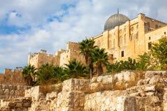 Al Aksa mosque, Jerusalem Stock Photo