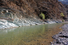 al al -2: (Al Hajar) Waterbed w Zielonej górze Obrazy Stock
